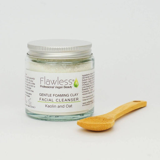 Clay Facial Cleanser Gentle Foaming - 60ml | Flawless - Just Think Eco