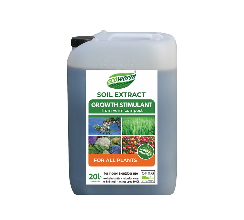 Ecoworm Soil Extract for All Plants 20L Organic Plant food