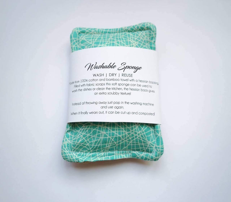 Scrubby Hessian Sponge - Just Think Eco