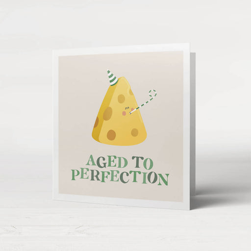 Fruta Aged to perfection Birthday card - Just Think Eco
