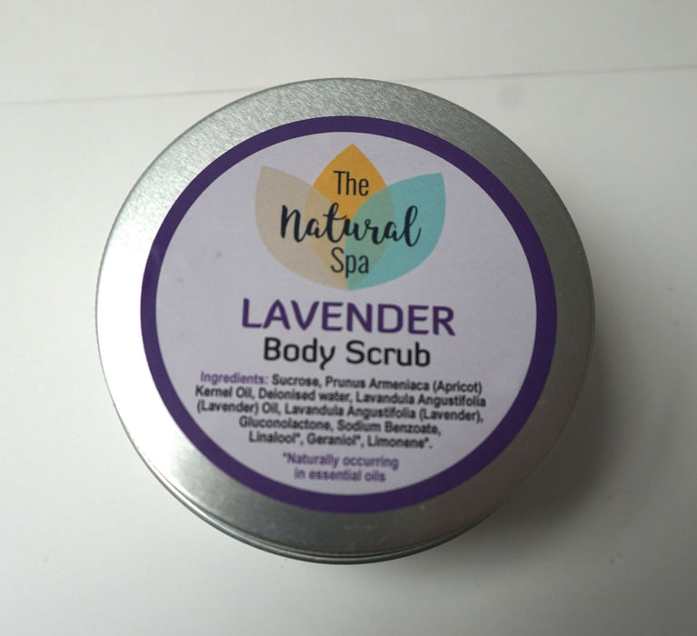 Natural Lavender body Scrub 200g