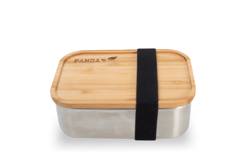 Sustainable Bamboo lunchbox - Panda Packaging