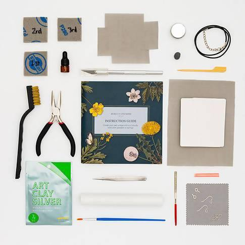 Recycled Fine Silver Jewellery Making Kit