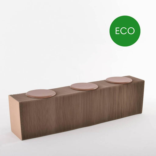 Foldable Paper Bench - Recycled | Paper Lounge - Just Think Eco