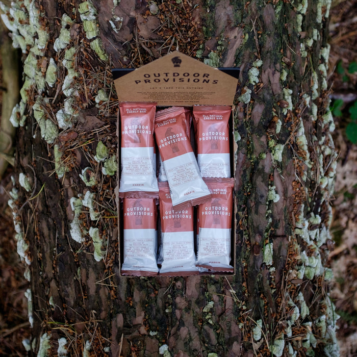 Outdoor Provisions, Natural Energy Bars, 18 X Parkin