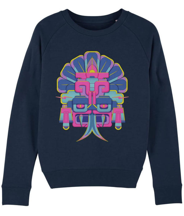 Cosmic Fangs Women 'Thunder' Sustainable Sweatshirt - Just Think Eco