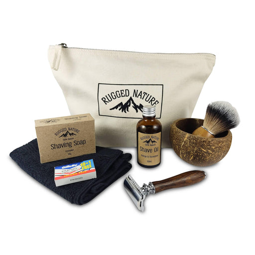 Rugged Nature Ultimate Shave Kit | Rugged Nature Ltd - Just Think Eco