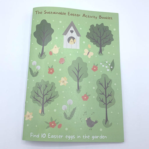 Easter Activity Booklet- Printed on recycled Paper | Helpful Kids - Just Think Eco