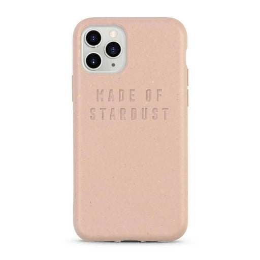 Compostable iPhone Case, Pink, Made of Stardust | Listening Store - Just Think Eco