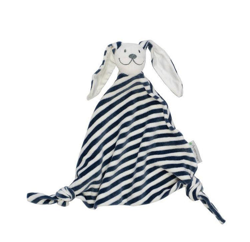 100% Organic Stripy Bunny Cotton Baby Comforter | Pure Earth Collection - Just Think Eco