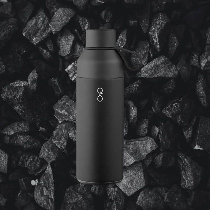 Ocean Bottle - Obsidian Black | Award Winning Insulated Bottle - Just Think Eco