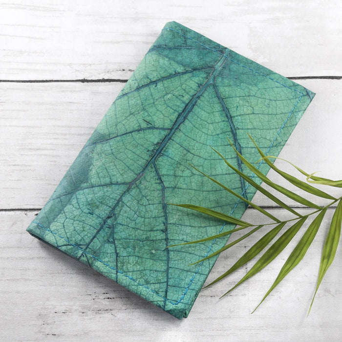 A6 Refillable Leaf Leather Journal | Choose From 9 Colours
