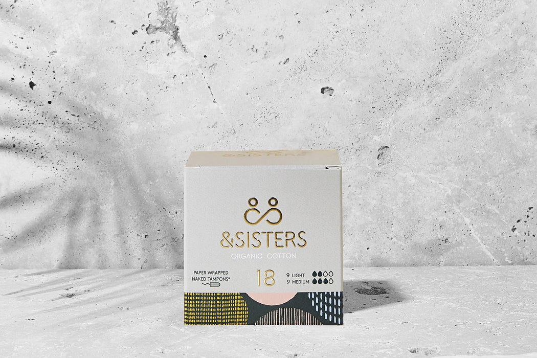 &SISTERS | Plastic-free Naked Tampons | Organic | Paper-wrapped