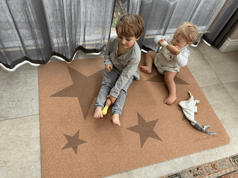 Natural Star play mat- Small | Eco Friendly Children's play mat