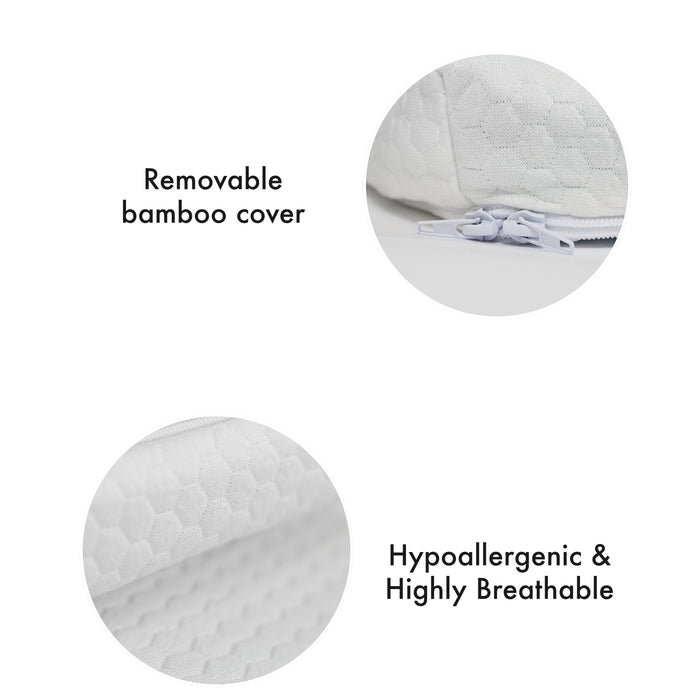The Topper - Bamboo Memory Foam Mattress Topper