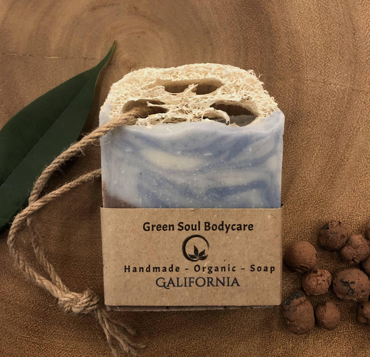 Galifornia | All in One Organic Loofah and Soap