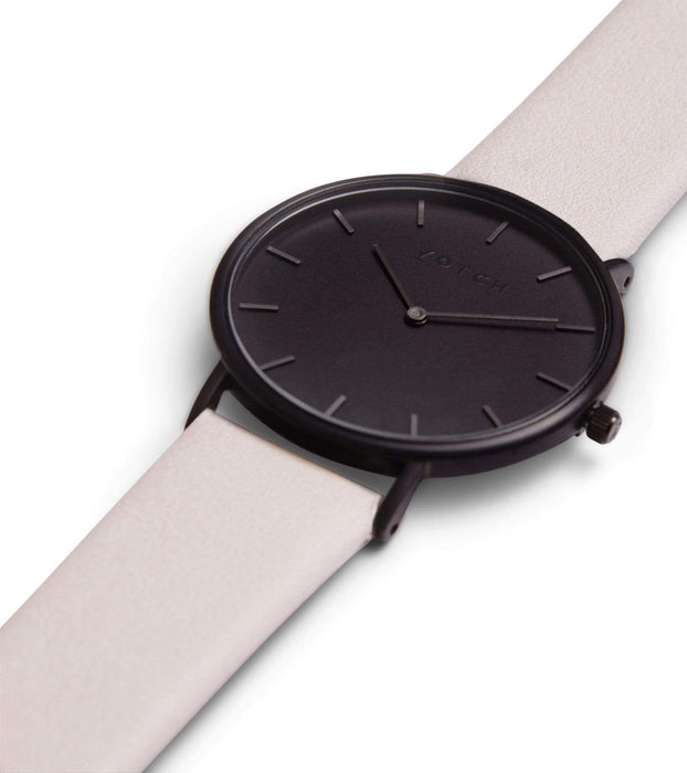 Black & Light Grey With Black | CLASSIC | Vegan watch by Votch