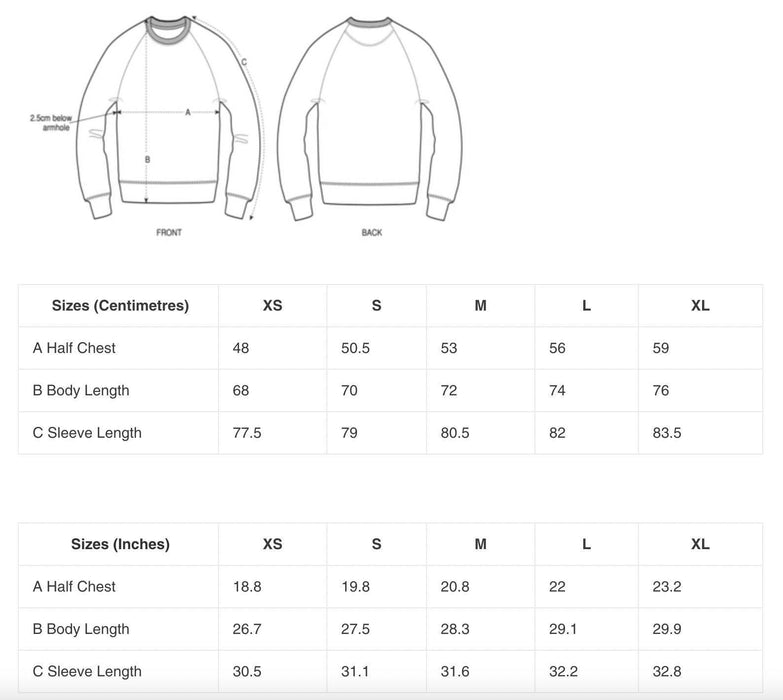 Cosmic Fangs Men 'Sun' Sustainable Sweatshirt