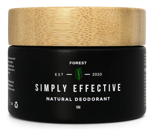 Simply effective - Forest - Natural deodorant cream - Just Think Eco