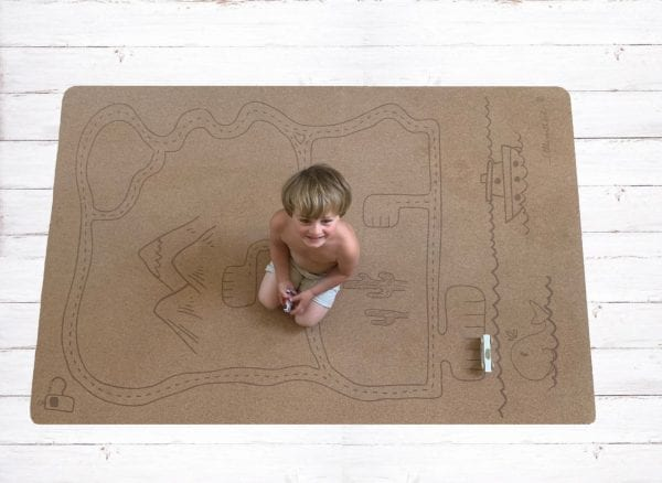 Rocky Road children's play mat – large | Eco Friendly Children's play mat