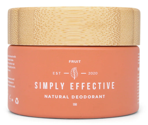 Simply Effective - Fruit - Natural Deodorant Cream - Just Think Eco