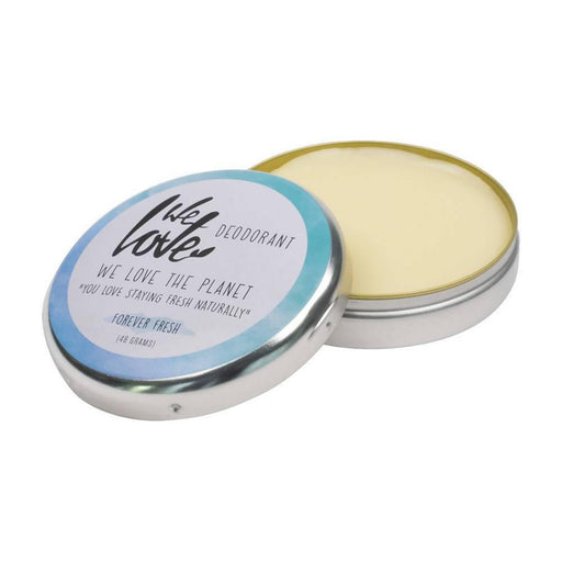 We Love the Planet - Forever Fresh Cream Deodorant Tin 48g - Just Think Eco