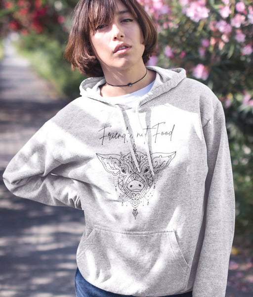 Friends, Not Food - Organic & Recycled Classic Hoodie | LoveSoul - Just Think Eco