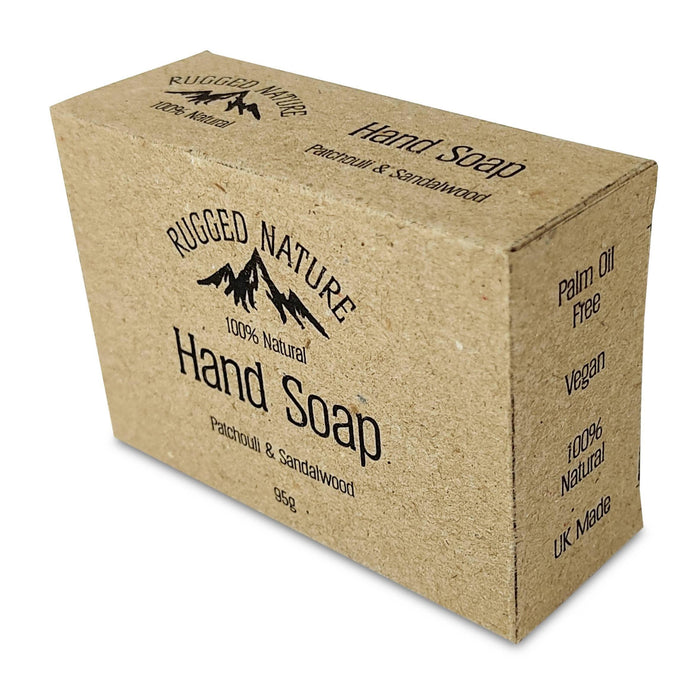 Rugged Nature Patchouli and Sandalwood Hand Soap - Just Think Eco