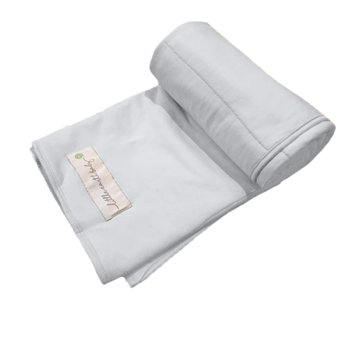 Pure earth collection- Bamboo baby blanket, Dawn grey