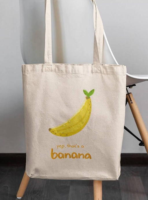 Bananito Woven Sustainable Tote Bag | Boki - Just Think Eco