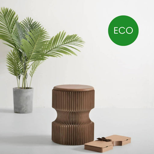 Diablo Paper Stool - Recycled Brown | Paper Lounge - Just Think Eco