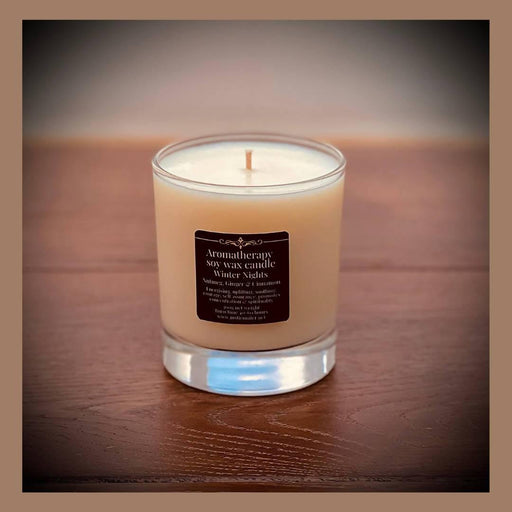 Glass Scented Refillable Candle 60 - 80 Hours | JustJennifer - Just Think Eco