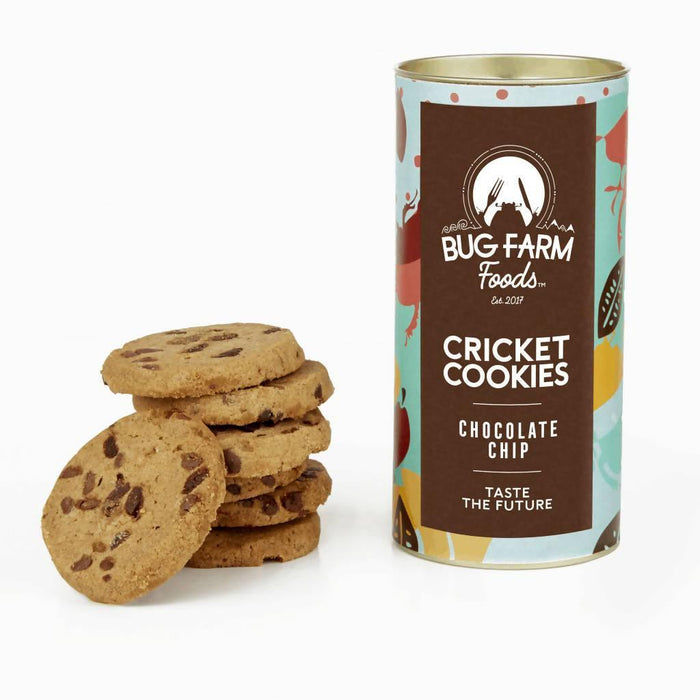 Cricket Cookies – Chocolate Chip | Bug Farm Foods