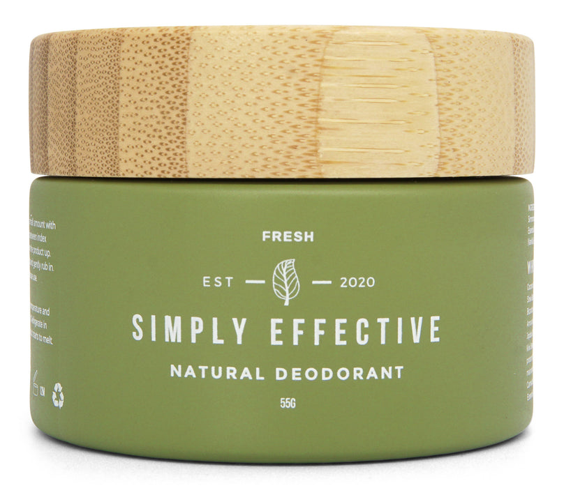 Simply effective - Fresh - Natural deodorant cream