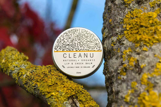 Sunflower & Sesame Vegan Lip Balm | Clean U Skincare - Just Think Eco