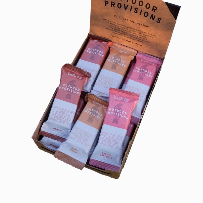 Outdoor Provisions, Natural Energy Bars, 18 BAR VARIETY BOX - No Choc Kendal Mint