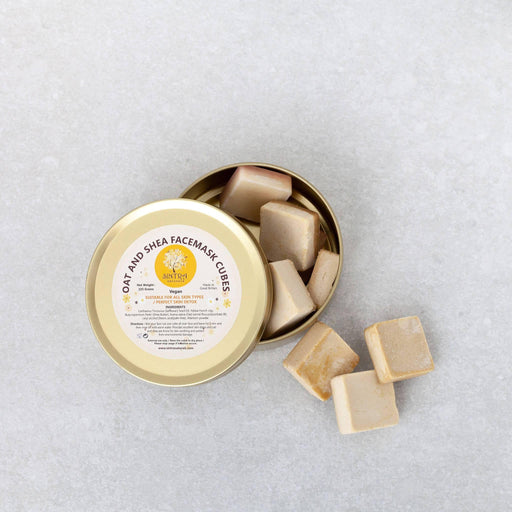 Oat And Shea Face Mask Cubes | Sintra Naturals - Just Think Eco