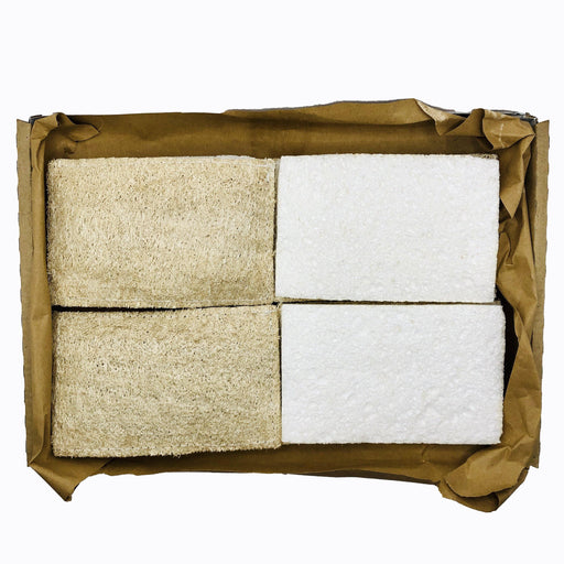 4 x Biodegradable dish Sponges, Compostable, eco friendly cellulose dish sponges - Just Think Eco