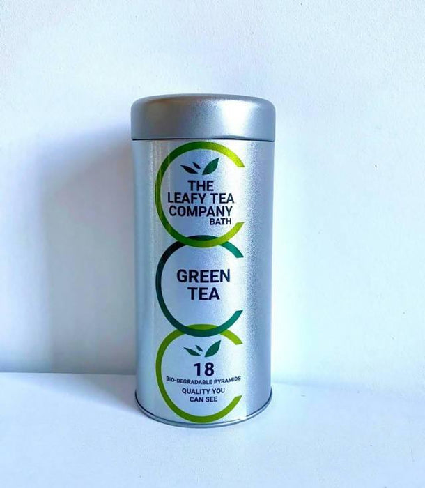 Malawi Zomba Green Tea - Biodegradable Pyramid Tea Bags & Loose Leaf | The Leafy Tea Company