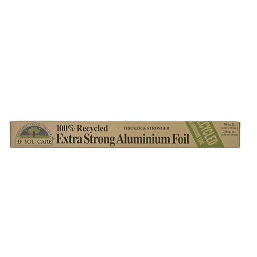 If You Care - 100% Recycled Extra Strong Aluminium Foil (7m) - Just Think Eco