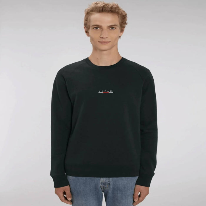 JAPAN | FLAGLINE™ | MEN'S SWEATSHIRT | GOOD TRIP CLOTHING. - Just Think Eco