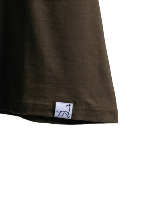 Pack T-Shirt - Olive - 100% Organic Cotton T shirt