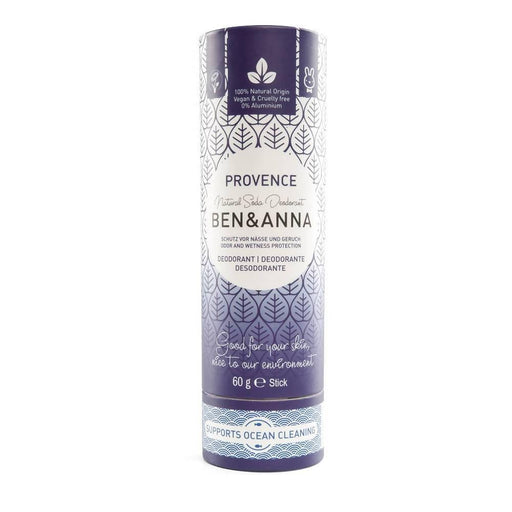 Ben & Anna Natural Deodorant Stick - Provence 60g - Just Think Eco