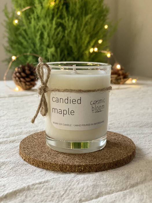 Candied Maple soy candle