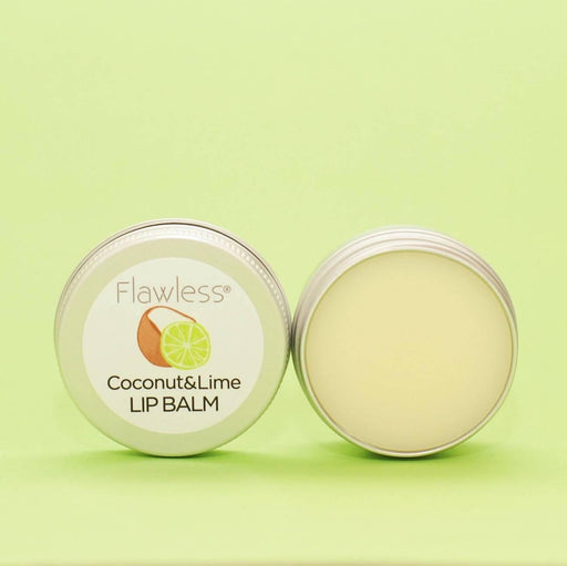 Coconut and Lime Nourishing Lip Balm | Flawless - Just Think Eco