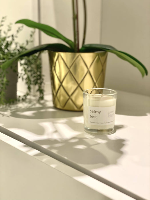 Balmy Zest soy candle