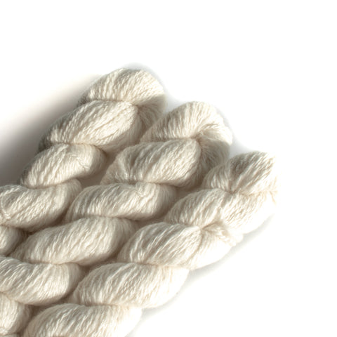 "Yarn ""Porcelain"" - 100% Hand Spun NZ Wool"