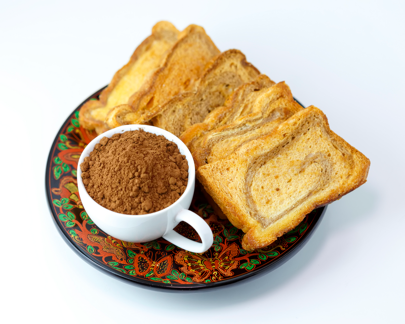 Shwe Yathar Special Chocolate Butter Rusk (Square)