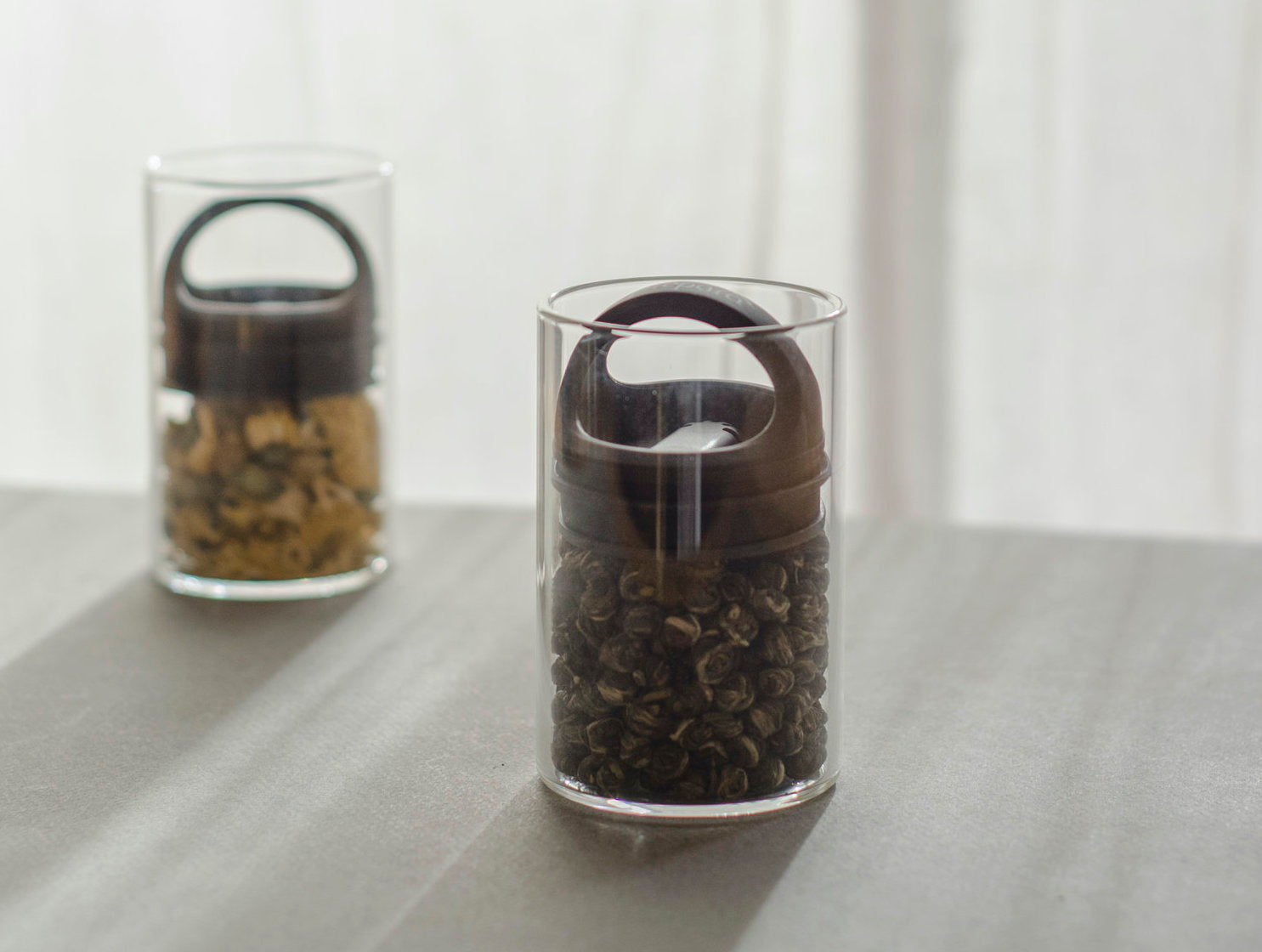 tea storage canisters