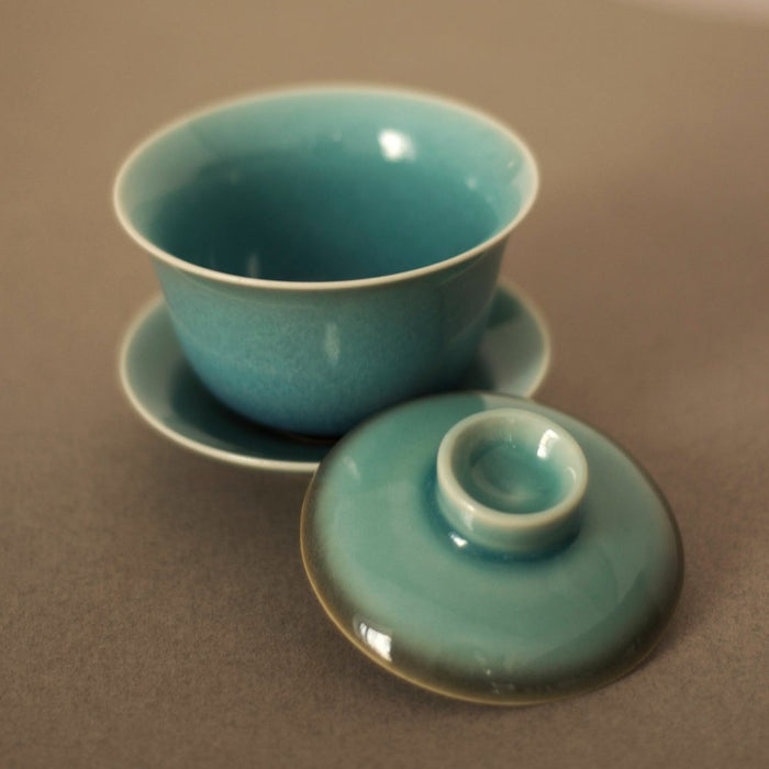 Blue Hare's Fur Gaiwan Atmospheric I